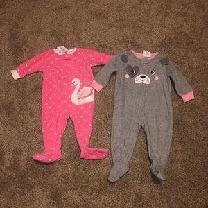 💕🆕2 Baby Footies
